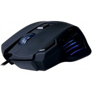 NOD LOCK & LOAD NOD GAMING MOUSE BLACK RUBBER 2400DPI