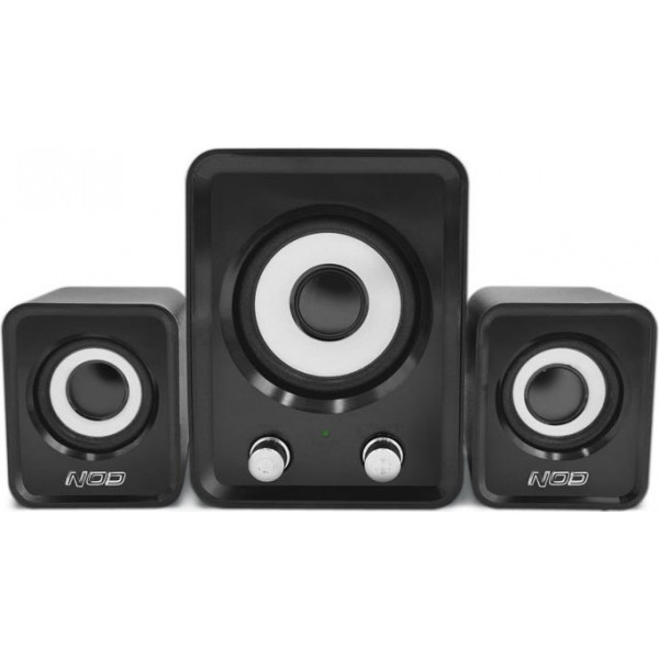 NOD Base.2.One SPK-010 Speaker 2.1 2x3W,black
