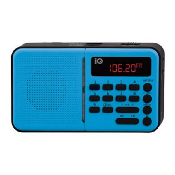 IQ Ραδιόφωνο PR-140 Γαλάζιο