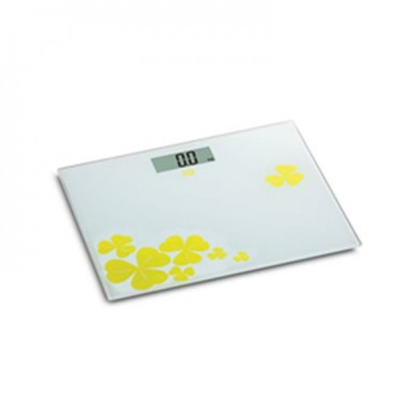 IQ SC-741 Ηλεκτρονική γυάλινη ζυγαριά μπάνιου Κίτρινη/Yellow