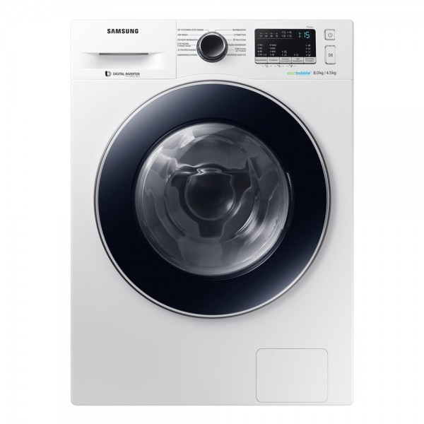 Samsung WD80M4A43JW/LV Πλυντήριο-Στεγνωτήριο 8kg+4.5kg 1400rpm