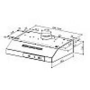 Faber 2740 Base BR A60 Ελεύθερος απορροφητήρας καφέ 60cm