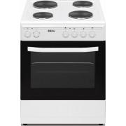 Ideal IDCS 6040 ENW Κουζίνα με Εμαγιέ Εστίες 60cm A