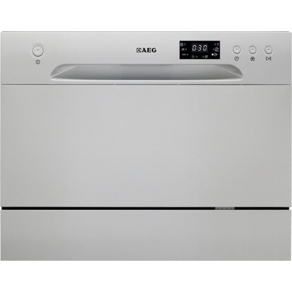 AEG F56202S0 Inox Επιτραπέζιο Πλυντήριο Πιάτων