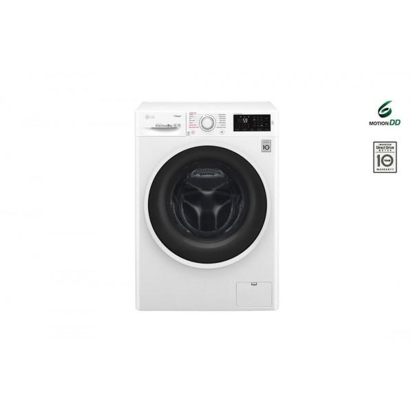 LG F4J6VN0W  Πλυντήριο ρούχων A+++-20% 9kg 1400 στροφών