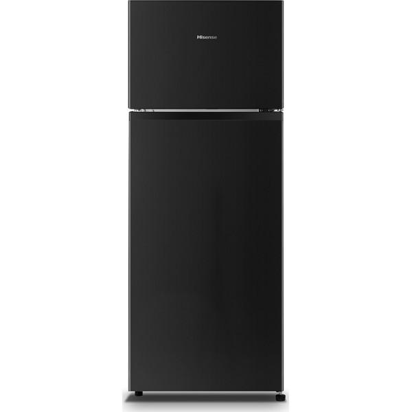 Hisense RT267D4ABF Δίπορτο ψυγείο  205Lt Μαύρο A+
