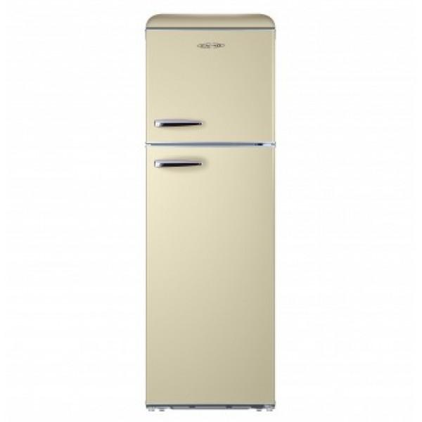 CARAD VDF355B Α+  Ψυγείο Δίπορτο Μπεζ Χρώμα