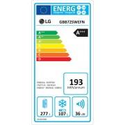 LG GBB72SWEFN Ψυγειοκαταψύκτης Total No Frost Λευκός A+++