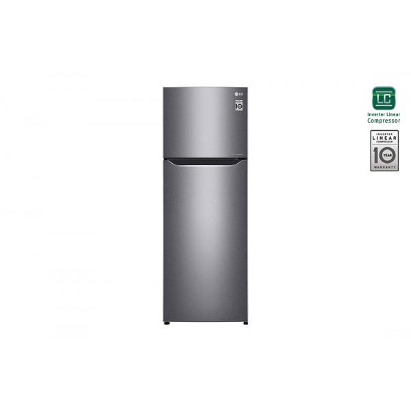 LG GTP523DSCL Total No Frost Ψυγείο Δίπορτο 333 lt
