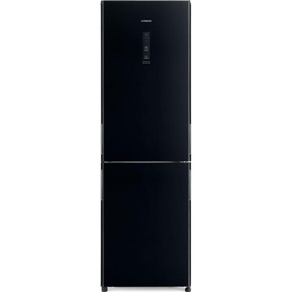 Hitachi R-BGX411PRU0 GBK Ψυγειοκαταψύκτης Total NoFrost Black Glass F