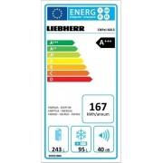 Liebherr CNPel 4813 Inox Ψυγειοκαταψύκτης NoFrost A+++