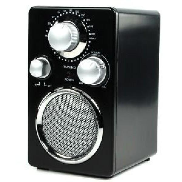 BASIC XL BXL-TR40 PORTABLE FM RADIO BLACK